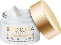 BIODROGA - Lotus & Science - Smart Recovery Anti Age Maske, maska regenerująca, 50 ml