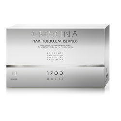 Crescina 1700 man Complete Treatment Follicular Islands - preparat do włosów dla mężczyzn, 2x10 x 3,5 ml