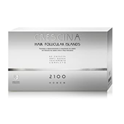 Crescina 2100 woman Complete Treatment Follicular Islands - preparat do włosów dla kobiet, 20 x 3,5 ml